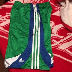 Reversible adidas shorts
